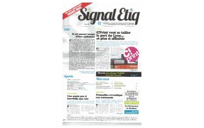 Couverture Signal Etiq - N°41 - Février 2014