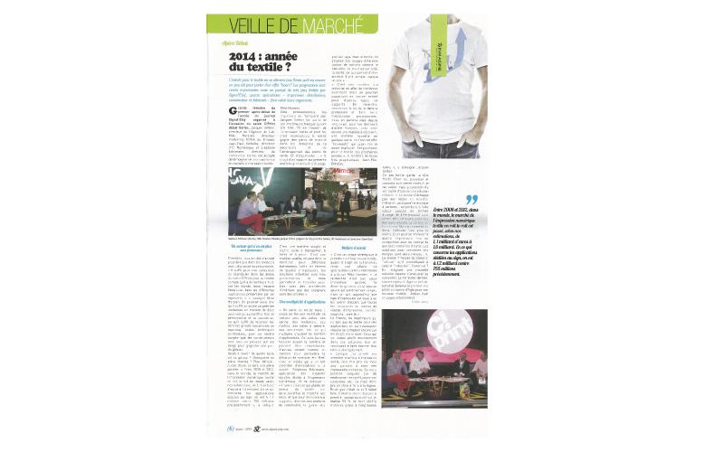 Signal Etiq - N°42 : Le textile : Intérêts, enjeu et avenir