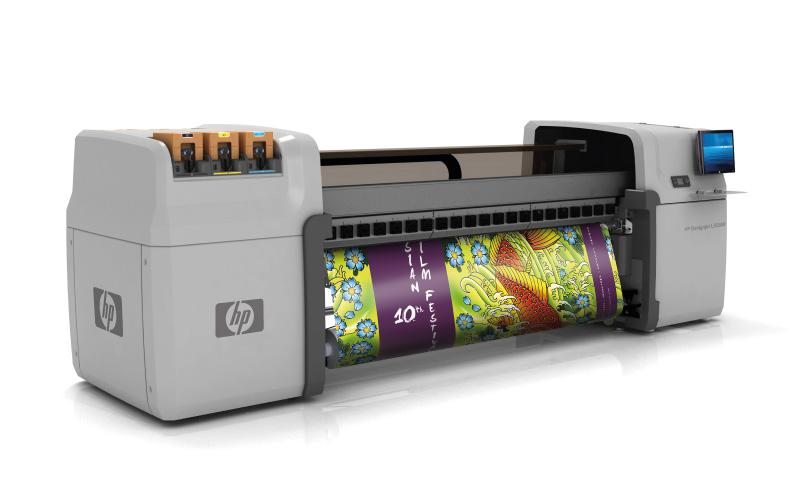 1ère HP Designjet L65500 en Europe