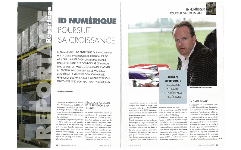 Sign Info Seri - N°230 - Interview de Jean-Paul BOHELAY par Gildas RONDEPIERRE.