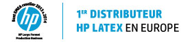 1ier distributeur HP Latex en Europe
