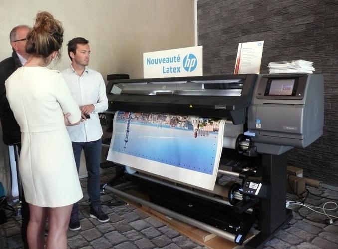 HP Latex Innovation Day, présentation des nouveautés