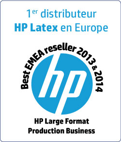 1er Distributeur de traceur et imprimante grand format HP Latex en Europe