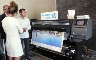 nouveauté HP latex lors des HP Innovation Day