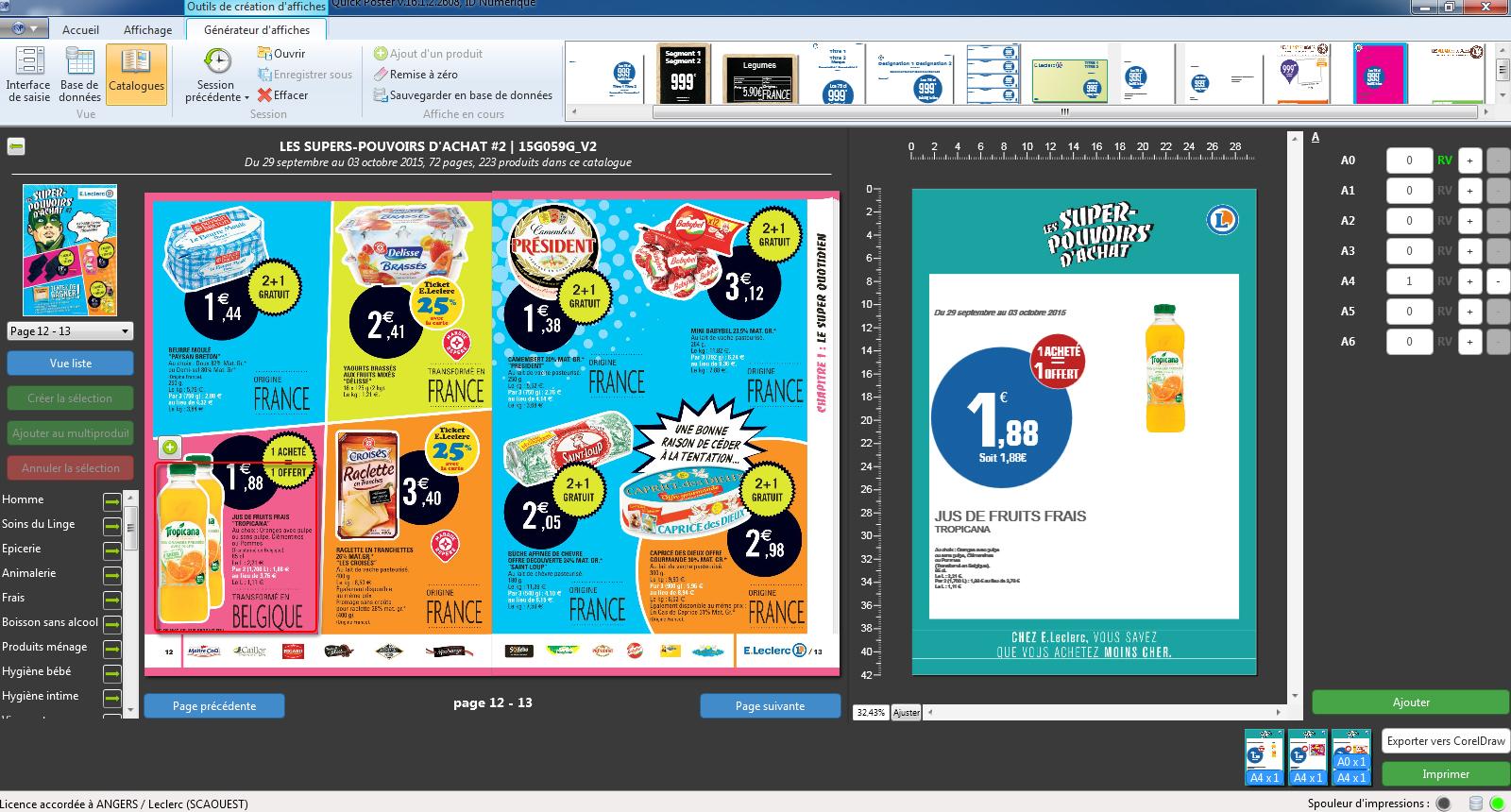 quick poster logiciel de cr u00e9ation affiches et automatisation