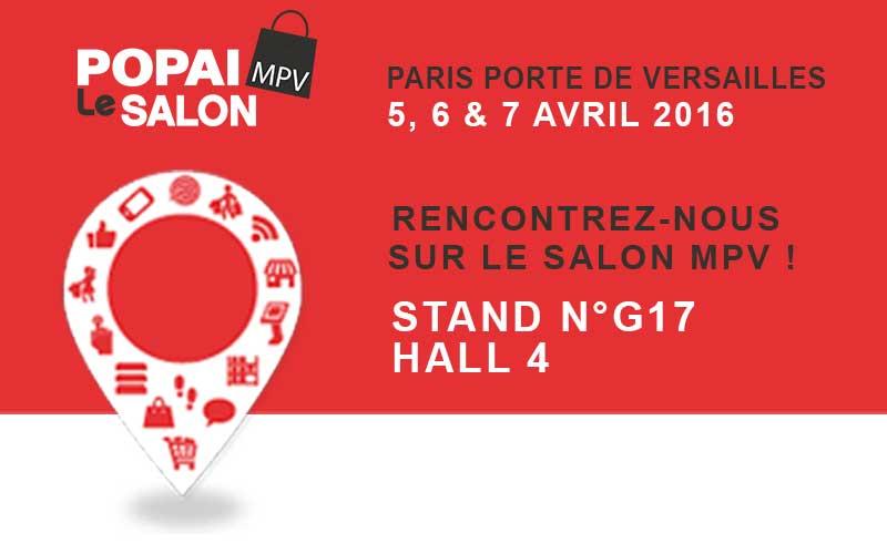 Salon MPV 2016 - Marketing du point de vente