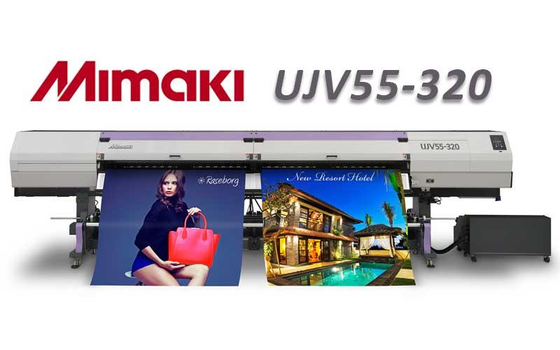 Présentation du nouveau traceur mimaki extra-large ujv55-320
