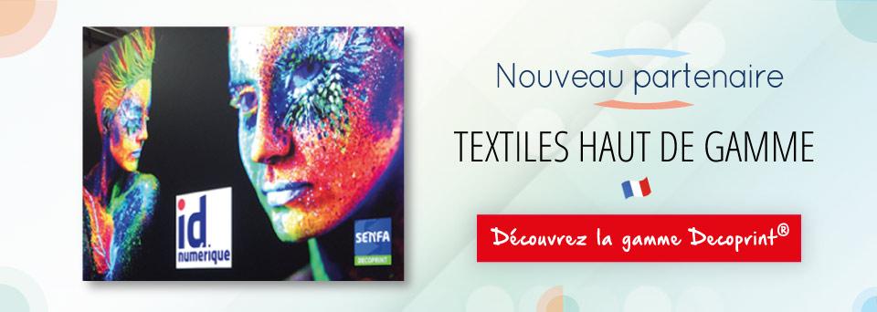 Fournisseur français de textiles haut de gamme - Impression numérique