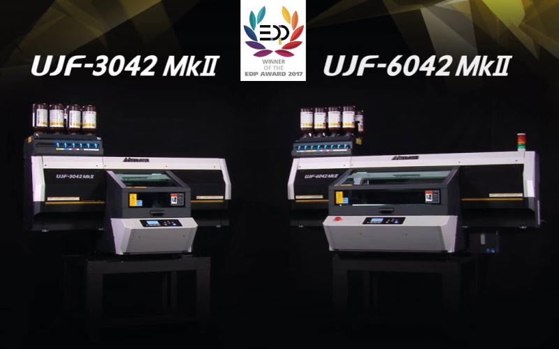 EDP 2017 Mimaki UJF Serie MkII récompensées