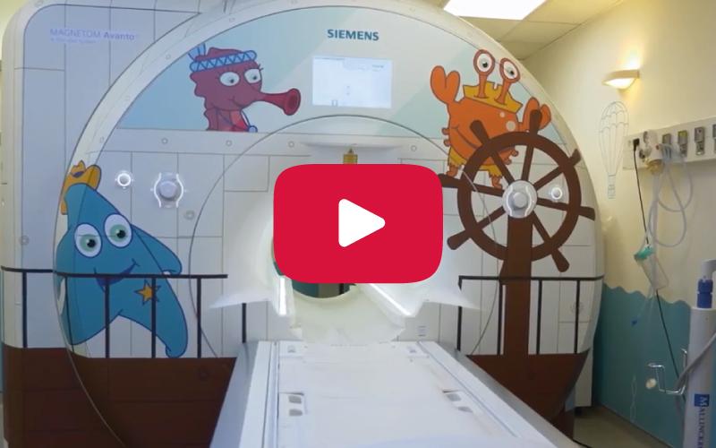 Technologie HP Latex décore l'hôpital de Brest